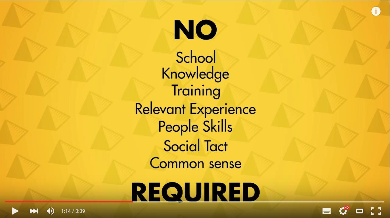 Van harte aanbevolen: Pyramid Scheme University